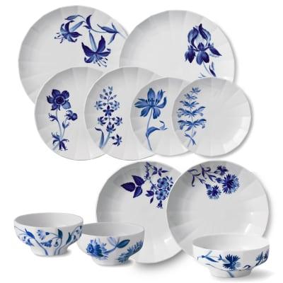 """Royal Copenhagen """"Blomst"""" Porcelain Dinnerware"""