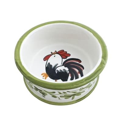 """Abbiamo Tutto """"Rooster"""" Ceramic Coaster from Italy"""