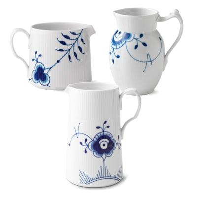 """Royal Copenhagen """"Blue Fluted Mega"""" Porcelain Jug"""