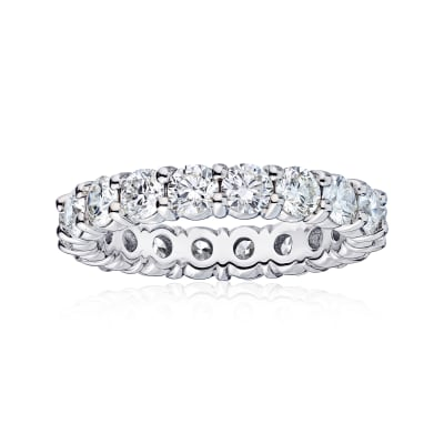 4.55 ct. t.w. Diamond Wedding Eternity Band in 14kt White Gold