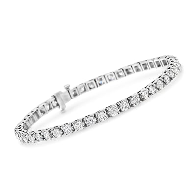 6.00 ct. t.w. Diamond Tennis Bracelet in 14kt White Gold