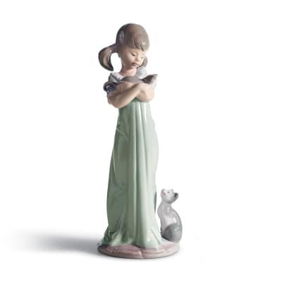 "Lladro ""Don't Forget Me"" Porcelain Figurine"