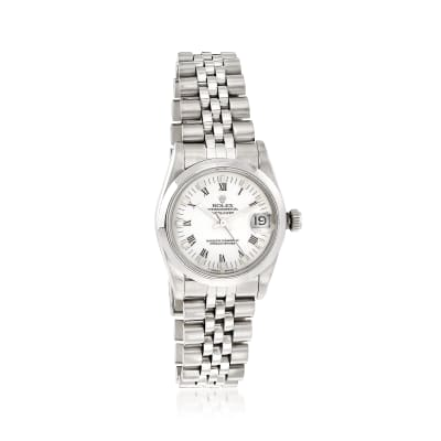 Pre-Owned Rolex Datejust Women's 30mm Automatic Stainless Steel Watch