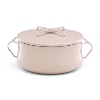 """Dansk """"Kobenstyle"""" Pink Casserole Pot with Lid"""