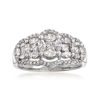1.30 ct. t.w. Diamond Ring in 14kt White Gold