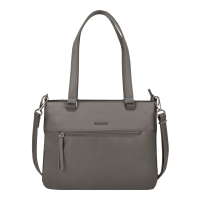 "Anti-Theft ""Addison"" Brown Tote Bag"
