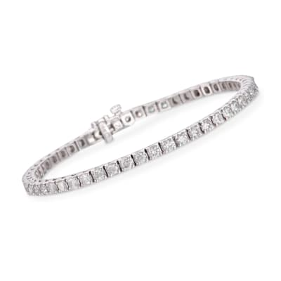 4.00 ct. t.w. Diamond Tennis Bracelet in 14kt White Gold