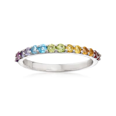.46 ct. t.w. Multi-Stone Ring in Sterling Silver
