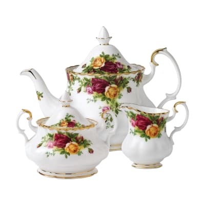 "Royal Albert ""Old Country Roses"" 3-pc. Tea Set"
