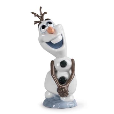 "Lladro ""Olaf"" Porcelain Figurine"