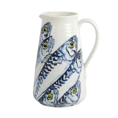 "Vietri ""Maccarello"" Pitcher from Italy"