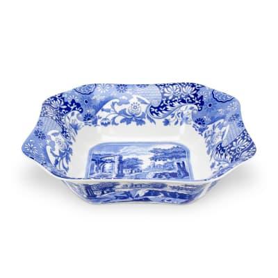 "Spode ""Blue Italian"" Square Serving Bowl"