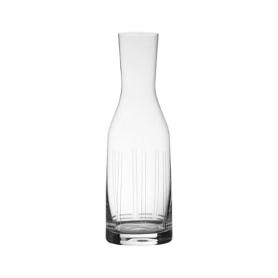 """Mikasa """"Berlin"""" Glass Carafe"""