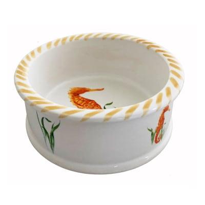 "Abbiamo Tutto ""Seahorse"" Ceramic Coaster from Italy"