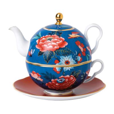 "Wedgwood ""Paeonia Blush"" Tea for One"
