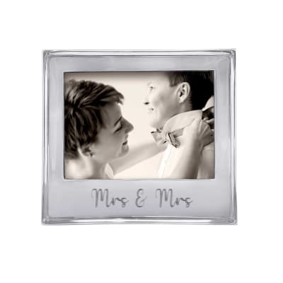 "Mariposa ""Signature"" Mrs. & Mrs. 5x7 Frame"