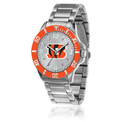 Men's 46mm NFL Cincinnati Bengals Stainless Steel Key Watch