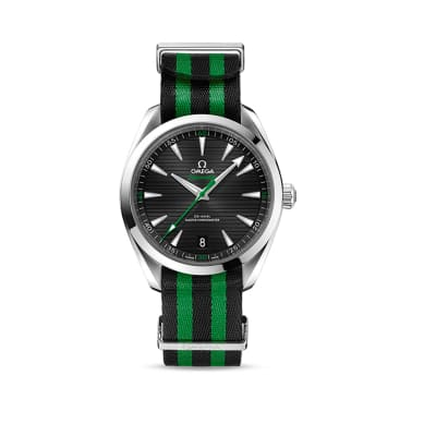 "Omega Seamaster Aqua Terra ""Golf Edition""  Men's 41mm Stainless Steel Watch - Sergio Garcia Version"