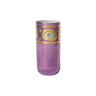 "Vietri ""Regalia"" Purple Highball Glass"