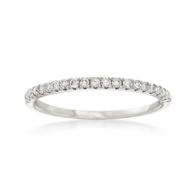 .25 ct. t.w. Diamond Stackable Ring in 14kt White Gold