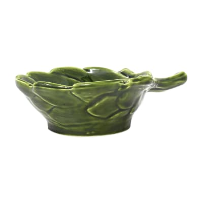 "Vietri ""Artichoke"" Green Figural Small Bowl from Italy"