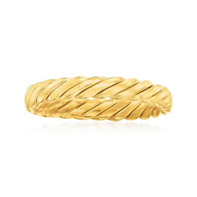 14kt Yellow Gold Twisted Ring