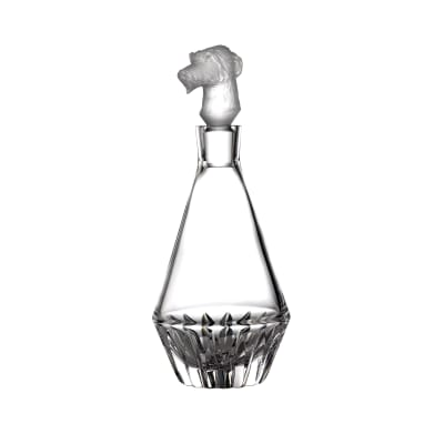 "Waterford Crystal ""Irish Dogs Madra"" Wolfhound Decanter"