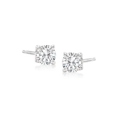 .33 ct. t.w. Diamond Stud Earrings in 14kt White Gold