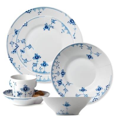 "Royal Copenhagen ""Blue Elements"" Dinnerware"