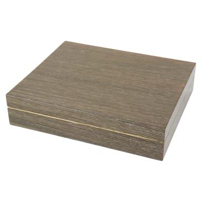 Light Gray Wooden Cuff Link Box