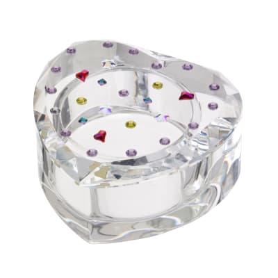 "Judith Ripka ""Gemstone"" Crystal Heart Box"