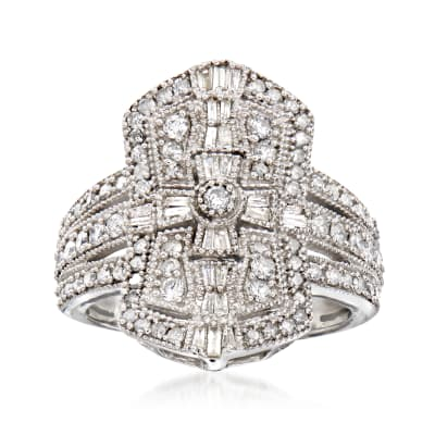 1.00 ct. t.w. Diamond Ring in Sterling Silver