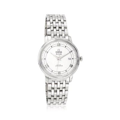 Omega De Ville Prestige Women's 40mm Automatic Stainless Steel Watch