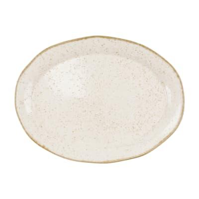"Vietri ""Earth"" Eggshell Oval Platter"