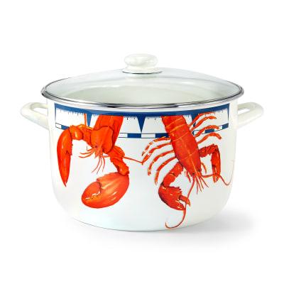 "Golden Rabbit ""Lobster"" 18-qt. Stock Pot with Rack"