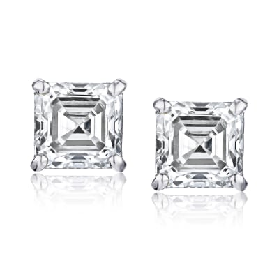 .48 ct. t.w. Diamond Stud Earrings in 14kt White Gold