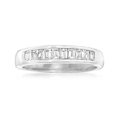 1.00 ct. t.w. CZ Ring in Sterling Silver