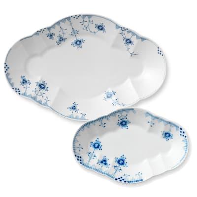 "Royal Copenhagen ""Blue Elements"" Oval Platter"