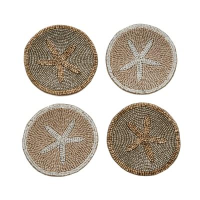 Joanna Buchanan Set of 4 Starfish Coasters