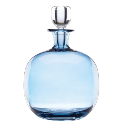 "Lenox ""Valencia"" Blue Decanter"