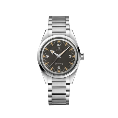 Omega Seamaster Railmaster Men's 38mm Automatic Stainless Steel Watch
