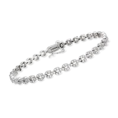 2.00 ct. t.w. Diamond Bracelet in 14kt White Gold