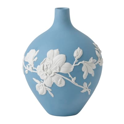 "Wedgwood ""Magnolia Blossom"" Bud Vase"