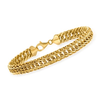 14kt Yellow Gold Oval-Link Bracelet