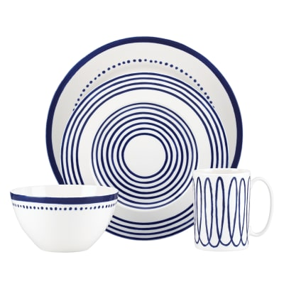 "Kate Spade New York ""Charlotte Street West"" 4-pc. Blue Place Setting"
