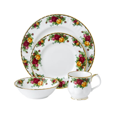"Royal Albert ""Old Country Roses"" Place Setting"