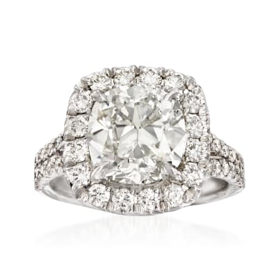 Majestic Collection 5.19 ct. t.w. Diamond Ring in 18kt White Gold