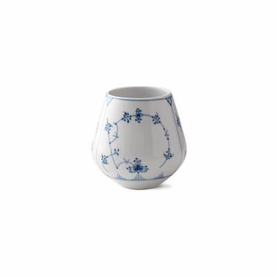"Royal Copenhagen ""Blue Fluted Plain"" Small Porcelain Vase"