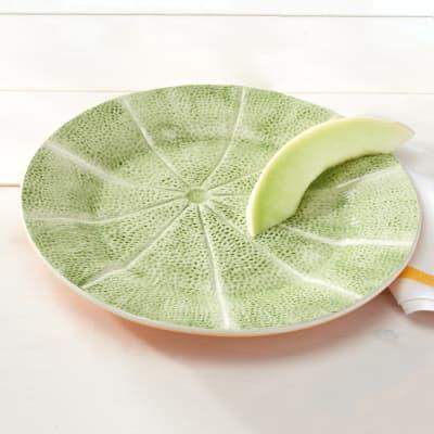 Bordallo Pinheiro Melon - Set of Two Charger Plates