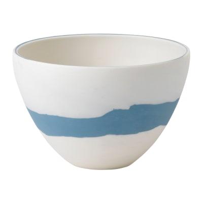 "Wedgwood ""Jasperware"" Blue Pebble Bowl"